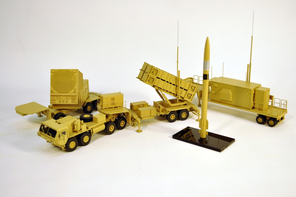 Patriot Missile Launcher Military Model PAC3