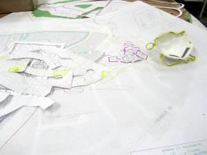 topography model