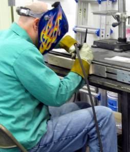model maker welding