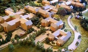 architectural site model