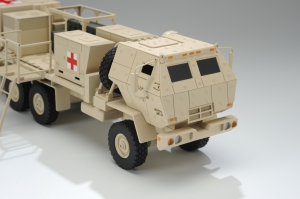 military truck scale model
